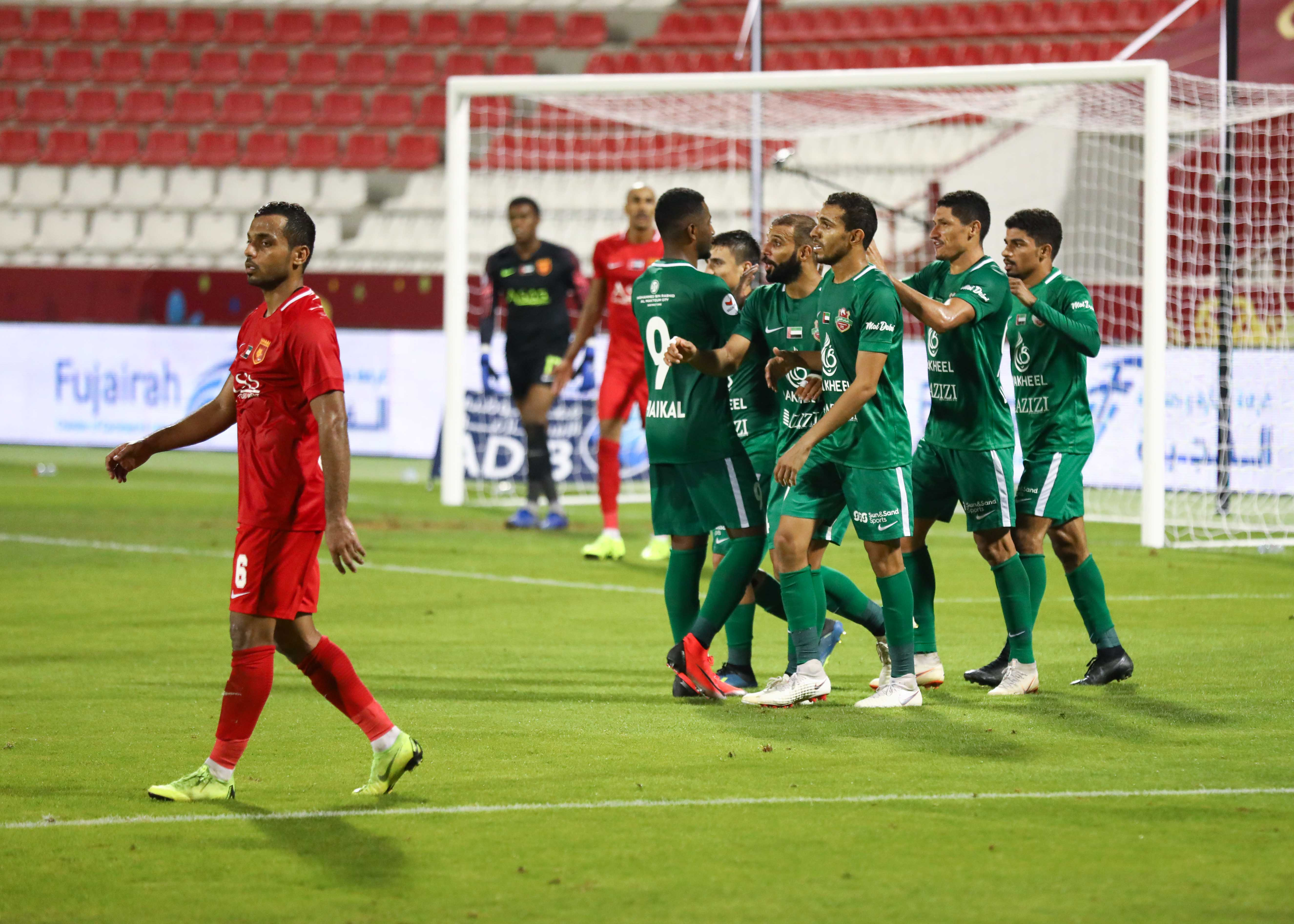 Shabab Al Ahli Collect All Three Points At Fujairah