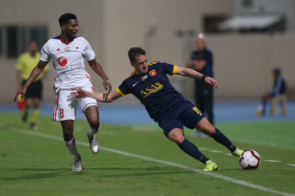 Kossoko's late goal seals win for Fujairah against Sharjah