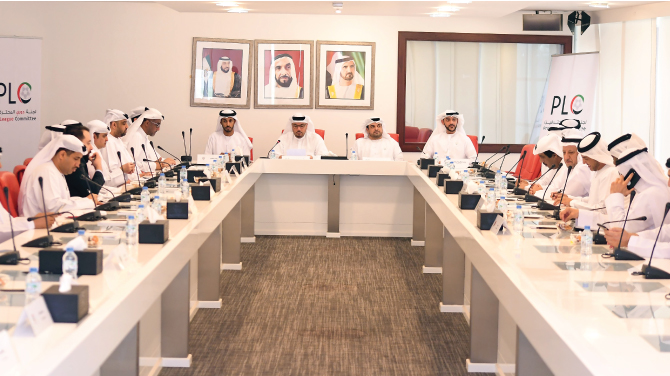 PLC Holds a Meeting with Football Companies Following UAEFA General Assembly Decision